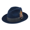 Barrington Wool Center Dent Fedora by Dobbs