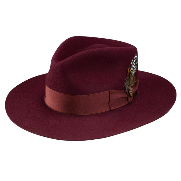Estate Wide Flat Brim Fedora by Dobbs