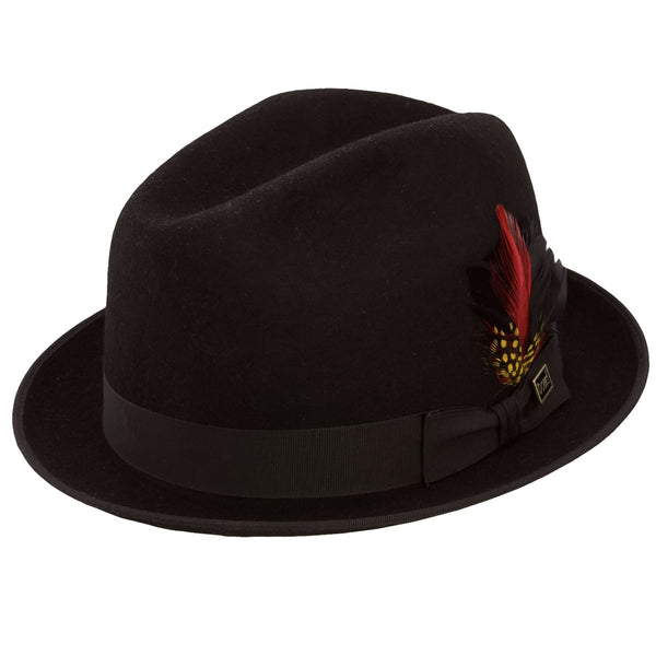 Rocky Stingy Brim Center Dent Fedora by Dobbs