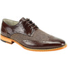 Ethan Wingtip With Herringbone Vamp