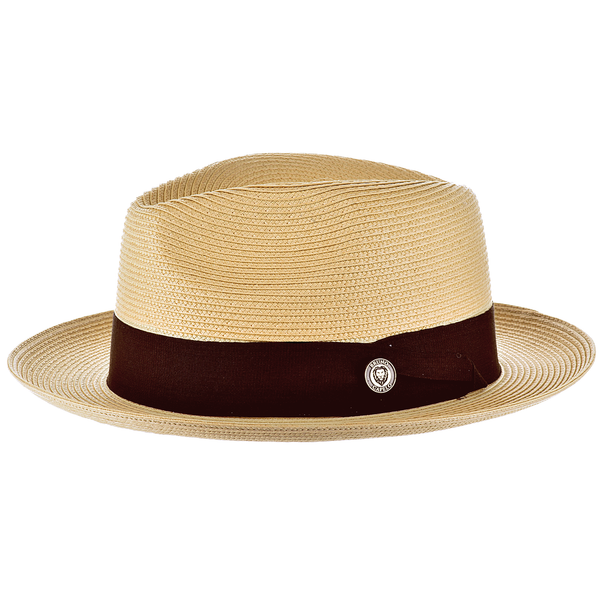 Francesco Straw Fedora by Bruno Capelo