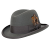 Alpha Smooth Fur Felt Homburg by Selentino