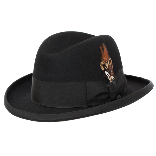 Selentino Alpha Smooth Fur Felt Homburg