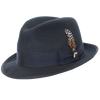 Pinch Front Wool Fedora by Stacy Adams
