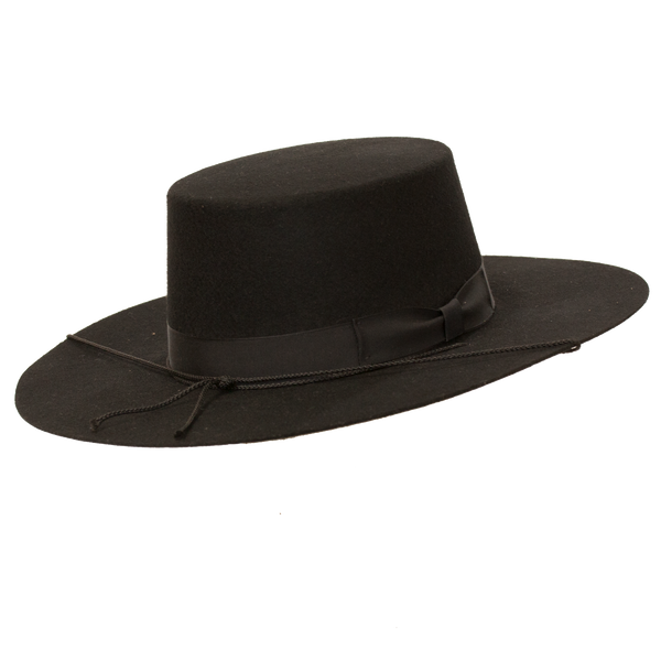 Bolero Wide Brim Flat Crown Hat by Capas