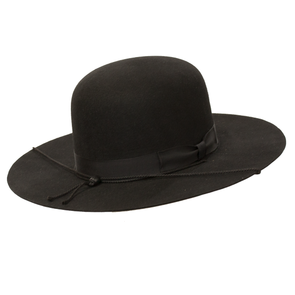 Undertaker Wide Brim Open Crown Hat by Capas
