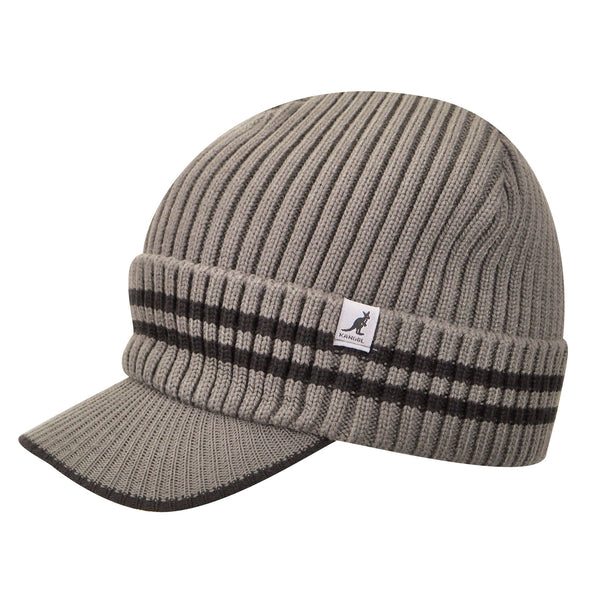 Kangol Ribbed Peak Pull On