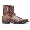 Libero Quilted Leather Cap Toe Boot