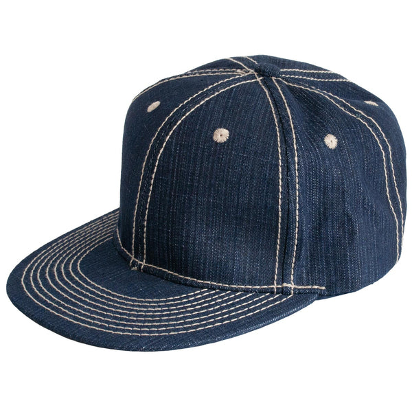 85cecd20c0428 Denim Baseball Cap by Levine Hat Co.