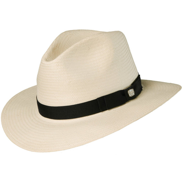 Scala 5 BU Toyo Safari Hat NATURAL / L/XL, Hats - SCALA, Levine Hat Co.