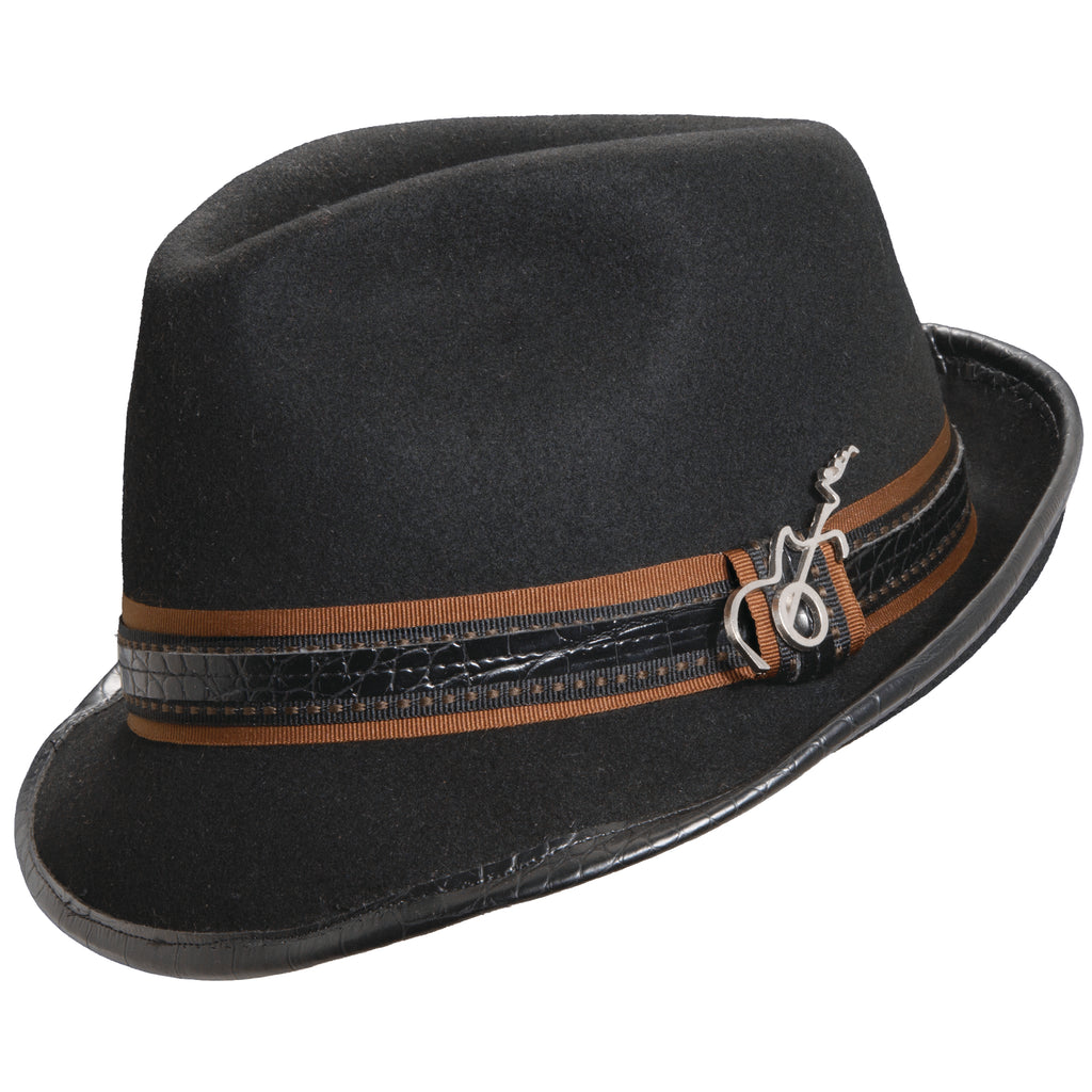 Santana Meditation Wool Fedora Hat