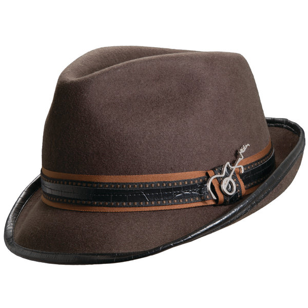 Meditation Wool Fedora by Carlos Santana