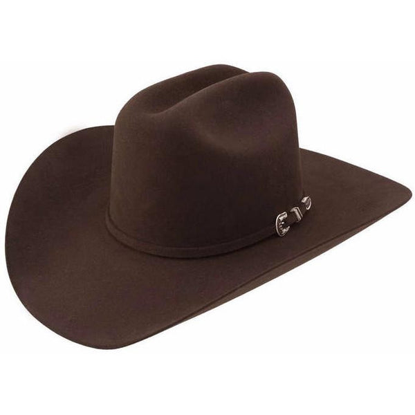 Stetson Skyline 6X Western Hat Chocolate / 6 7/8, HATS - STETSON, Levine Hat Co. - 3