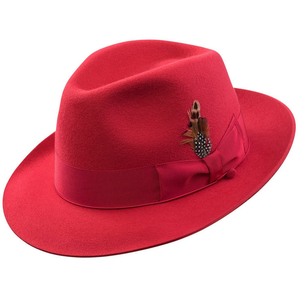 0a1a69aba01 Sterling Fur Felt Fedora by Selentino in Fashion Colors