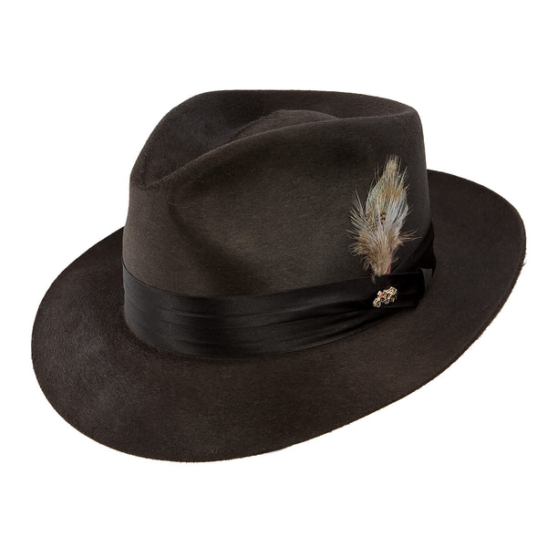 Dobbs Temptation Silk Finish Fur Felt Fedora