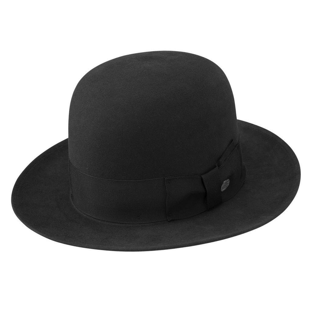 New York Beaver Fedora With Open Crown