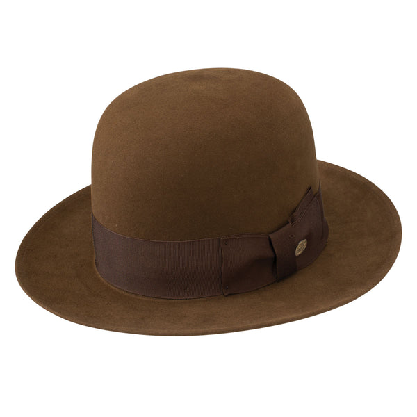 "Stetson ""New York"" Open Crown Beaver Fedora"