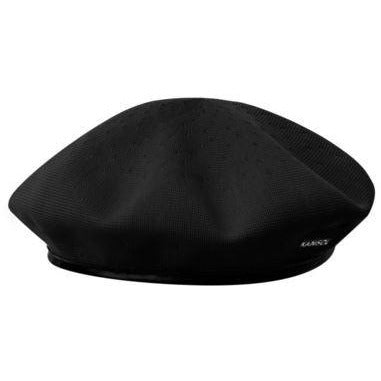 Kangol Tropic Monty Beret S / BLACK, HATS - KANGOL, Levine Hat Co.