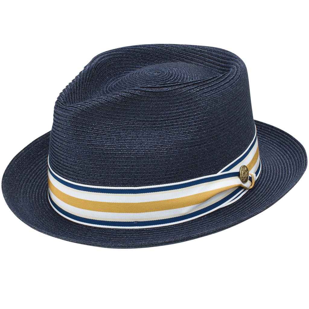 Luciano Braided Hemp Fedora by Stetson