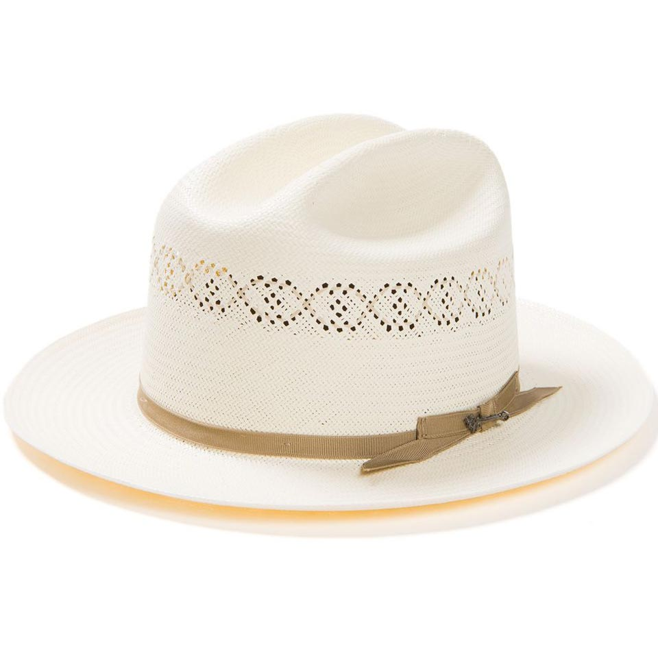 2ab87580de1 Open Road 1 Vented Straw Hat by Stetson – Levine Hat Co.