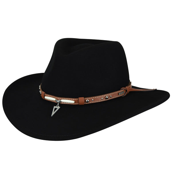 Bailey Sundown Western Hat BLACK
