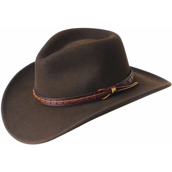 Bailey Firehole LiteFelt Western BEAVER / L, Hats - BAILEY, Levine Hat Co. - 1