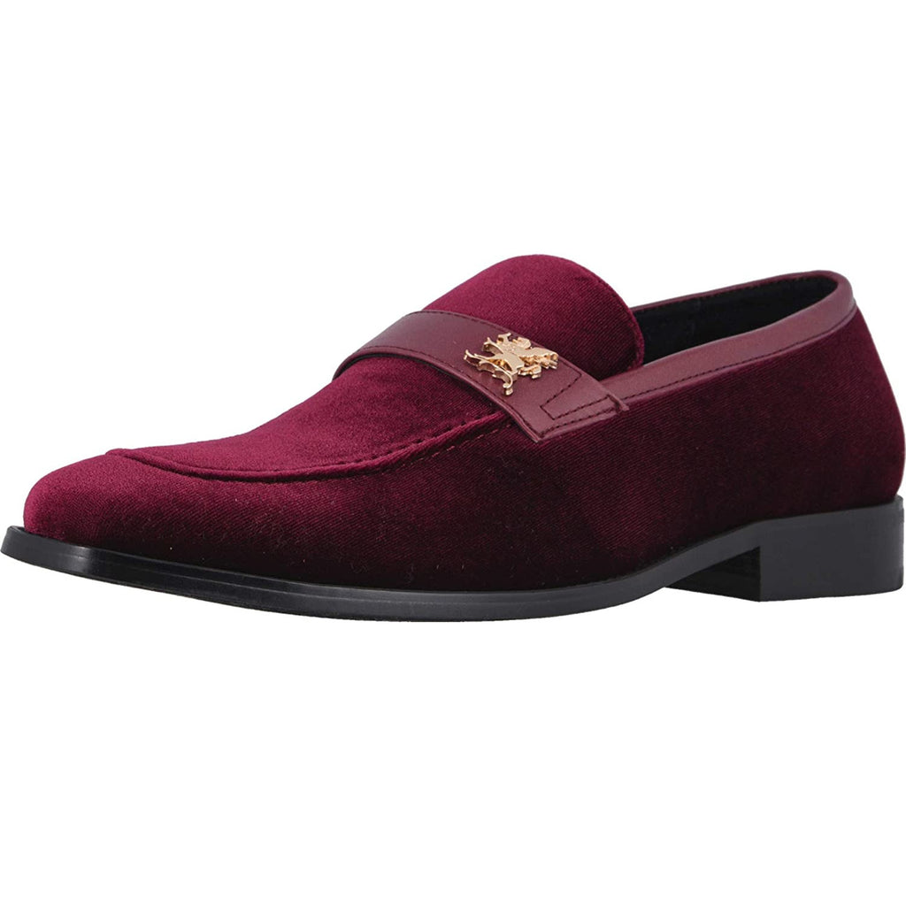 Bellino Velour Loafer by Stacy Adams