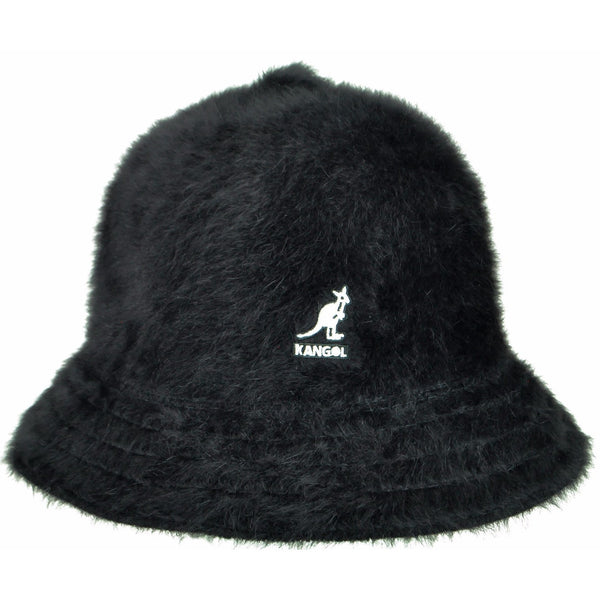 Kangol Furgora Casual Bucket BLACK / L, HATS - KANGOL, Levine Hat Co.