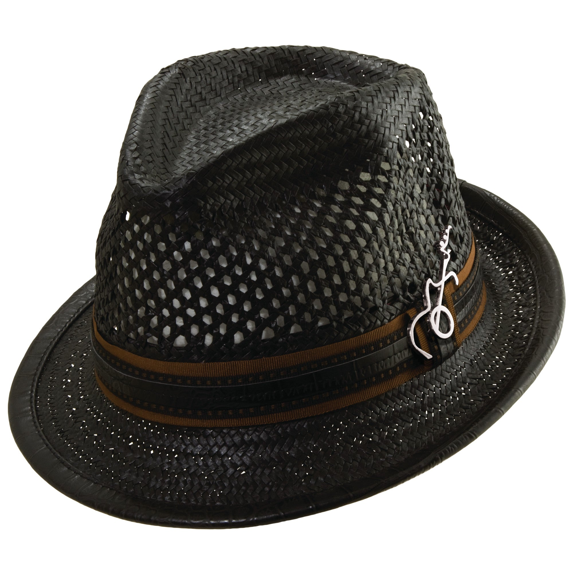 2ff558d3c1721 Mohican Fedora by Carlos Santana – Levine Hat Co.