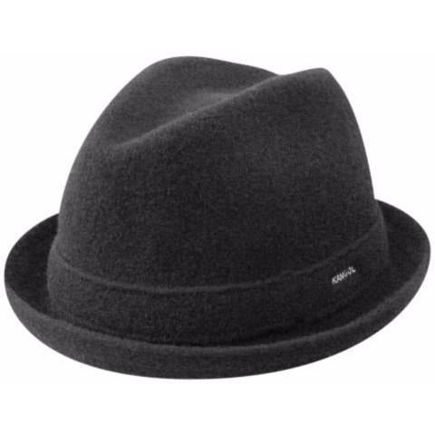 Kangol Wool Player BLACK / L, HATS - KANGOL, Levine Hat Co.