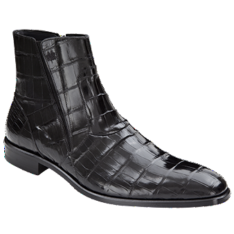 Belucci Alligator Boot by Mezlan BLACK / 9, Shoes - Mezlan, Levine Hat Co.
