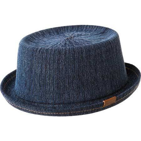 Kangol Denim Mowbray Hat INDIGO WASH / L, Hats - KANGOL, Levine Hat Co.