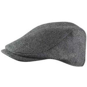 Broner Top Notch Wool Ivy Cap CHARCOAL / L, HATS - BRONER, Levine Hat Co. - 1