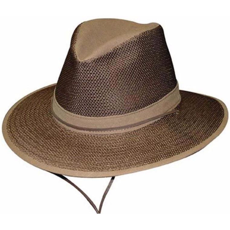 Henschel Packable Safari Breezer EARTH / L, Hats - HENSCHEL, Levine Hat Co. - 2