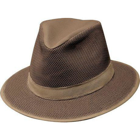 Henschel Packable Aussie Breezer EARTH / L, Hats - HENSCHEL, Levine Hat Co. - 1
