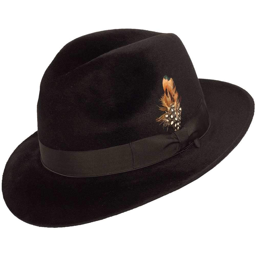 Galaxy Velour Fedora by Selentino