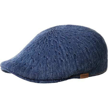 Kangol Denim 507 Cap INDIGO WASH / L, Hats - KANGOL, Levine Hat Co.