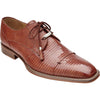 Karmelo Lizard Skin Oxford by Belvedere TAN / 8, Shoes - BELVEDERE, Levine Hat Co. - 3