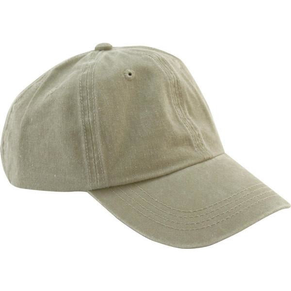 Khaki Washed Baseball Cap , cap - Levine Hat Co., Levine Hat Co.