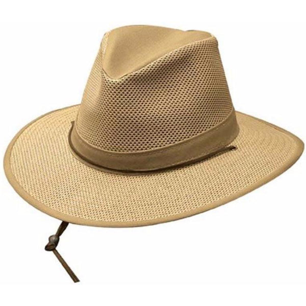 Henschel Packable Safari Breezer KHAKI / L, Hats - HENSCHEL, Levine Hat Co. - 1
