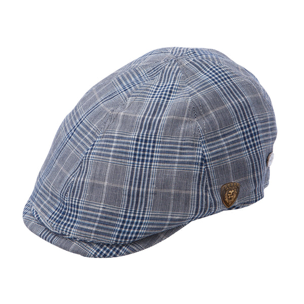 Dobbs Koh Rong Pub Cap MULTI PLAID / L, Hats - DOBBS, Levine Hat Co.
