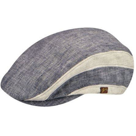 Bailey Bruck Linen Ivy Cap NAVY / L, Hats - BAILEY, Levine Hat Co.