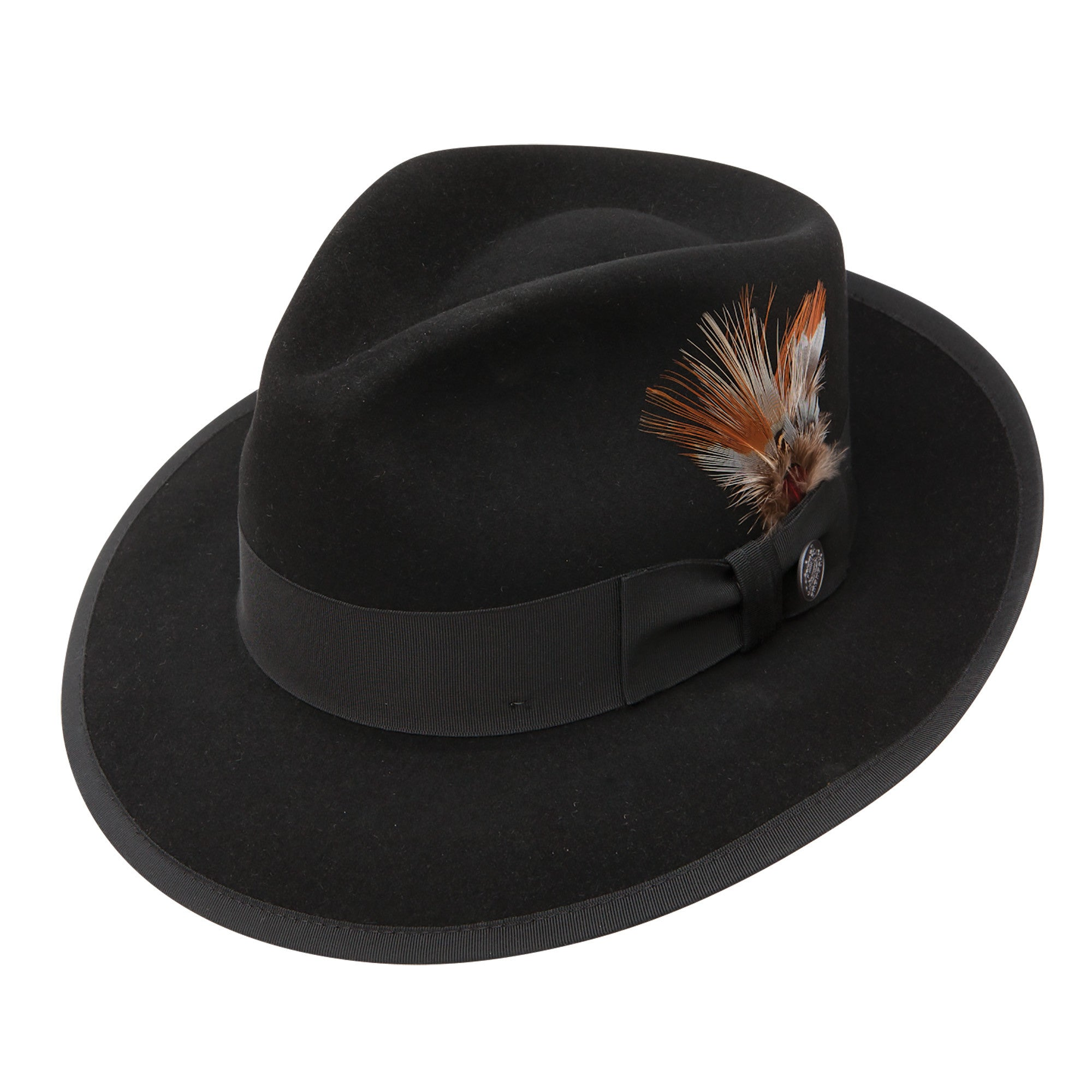 Whippet Fur Felt Fedora by Stetson – Levine Hat Co. 92319c473