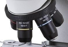 Achromatic Super Contrast Objectives for Motic B1 & B2 Microscope Series