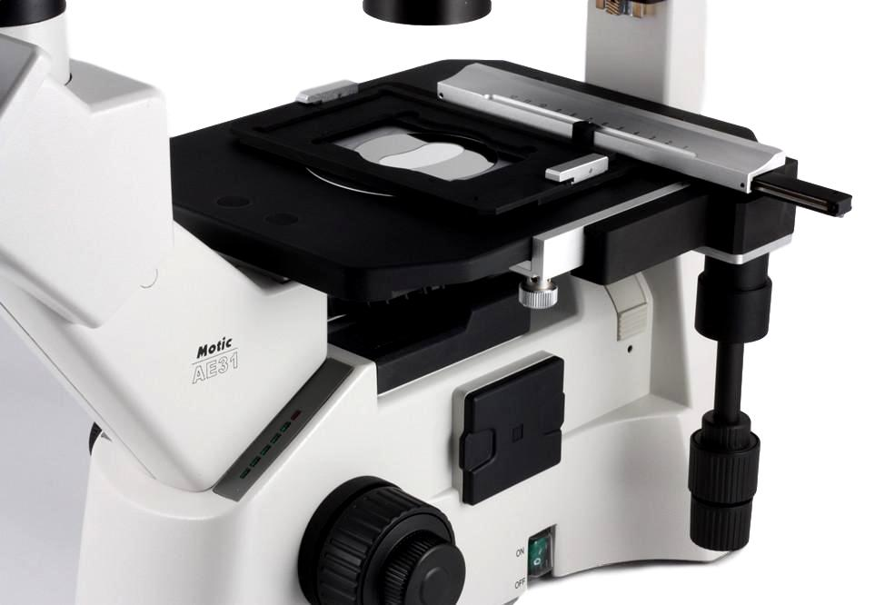 Motic AE 30 / 31 Mechanical Microscope Stage