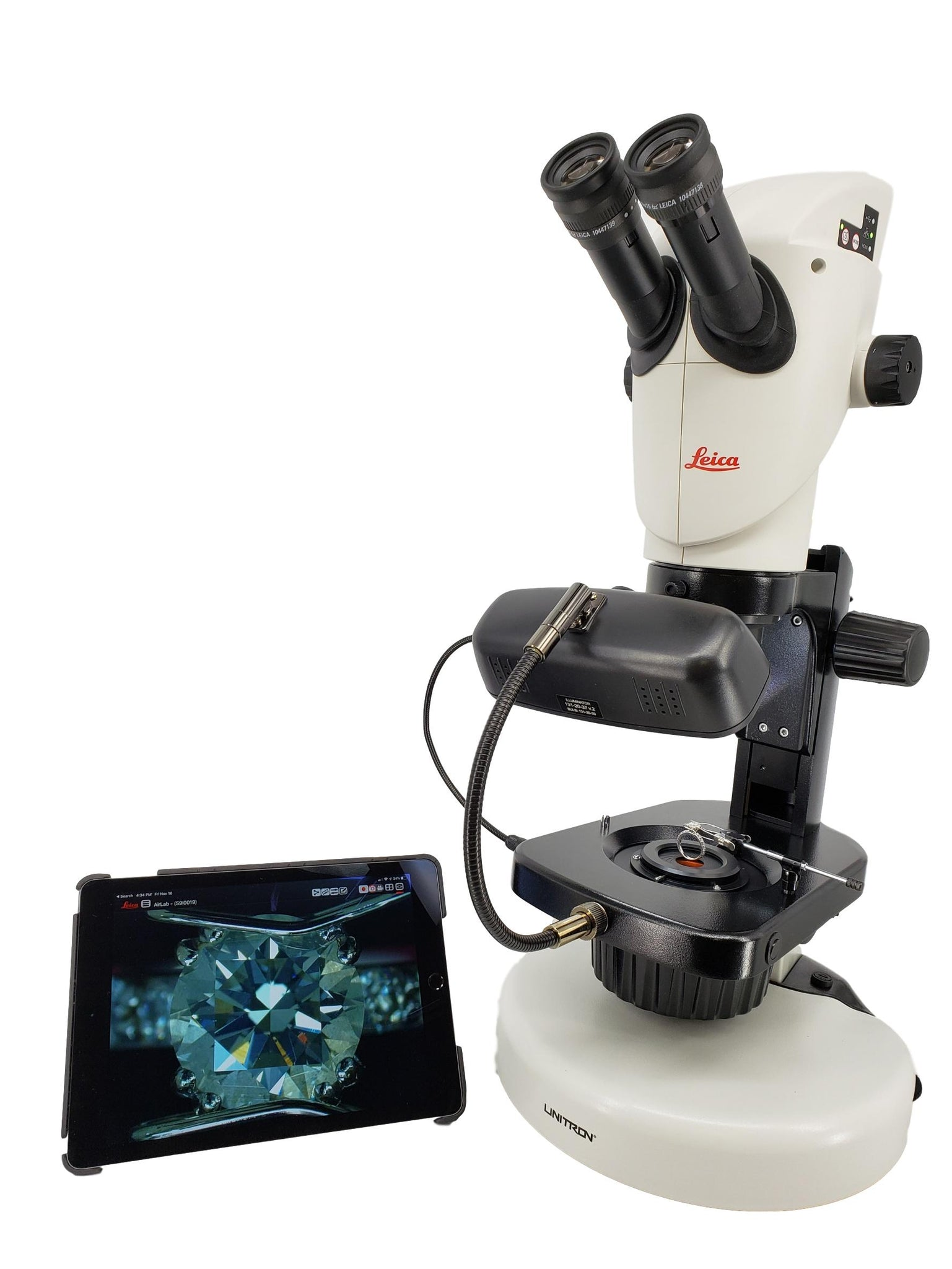 Leica S9i Gemological High Definition WiFi Jewelers Microscope