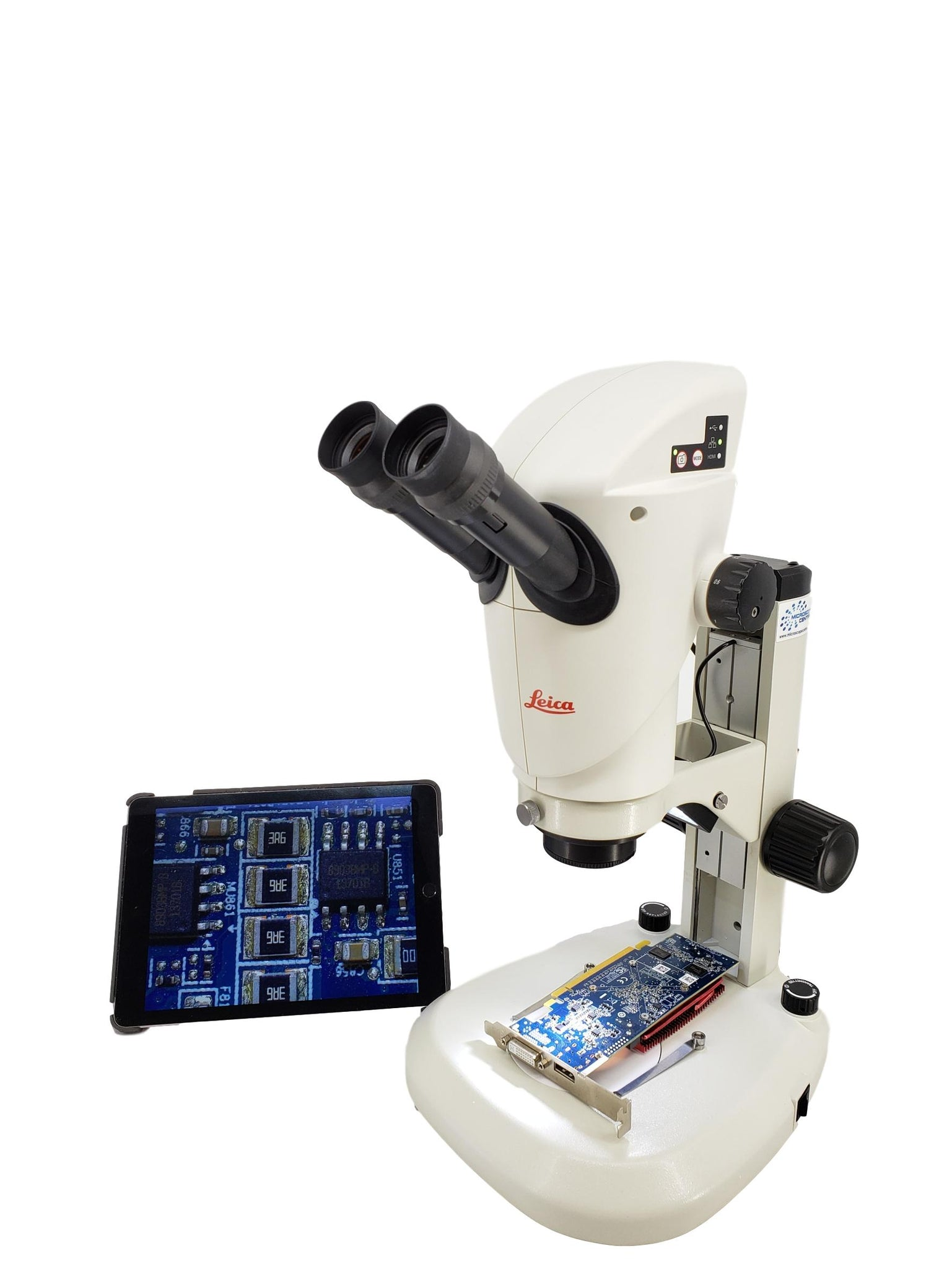 Leica S9i HD Digital WiFi Microscope On LED Stand 6.1x - 55x