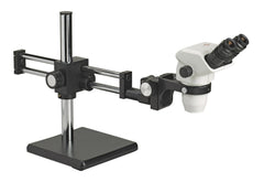 Accu-Scope 3075 / 3076 Zoom Stereo Microscope on Ball Bearing Boom Stand