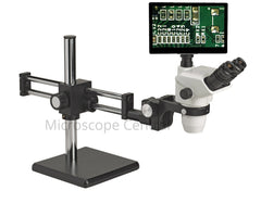 Accu-Scope 3076 Boom Stand Digital Microscope 0.67x - 4.5x