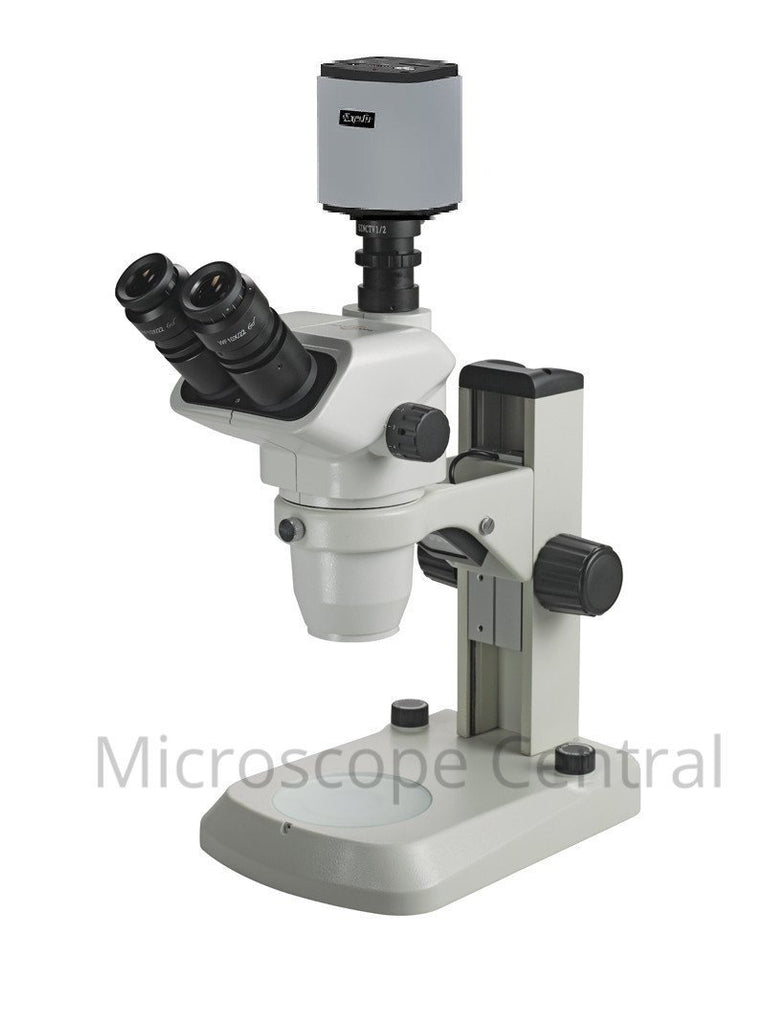 Accu-Scope 3076 E-LED Digital Stereo Microscope 0.67x - 4.5x